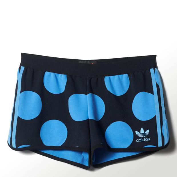 Running shorts, €40, both adidas Originals Dear Baes collection, Life Style Sports