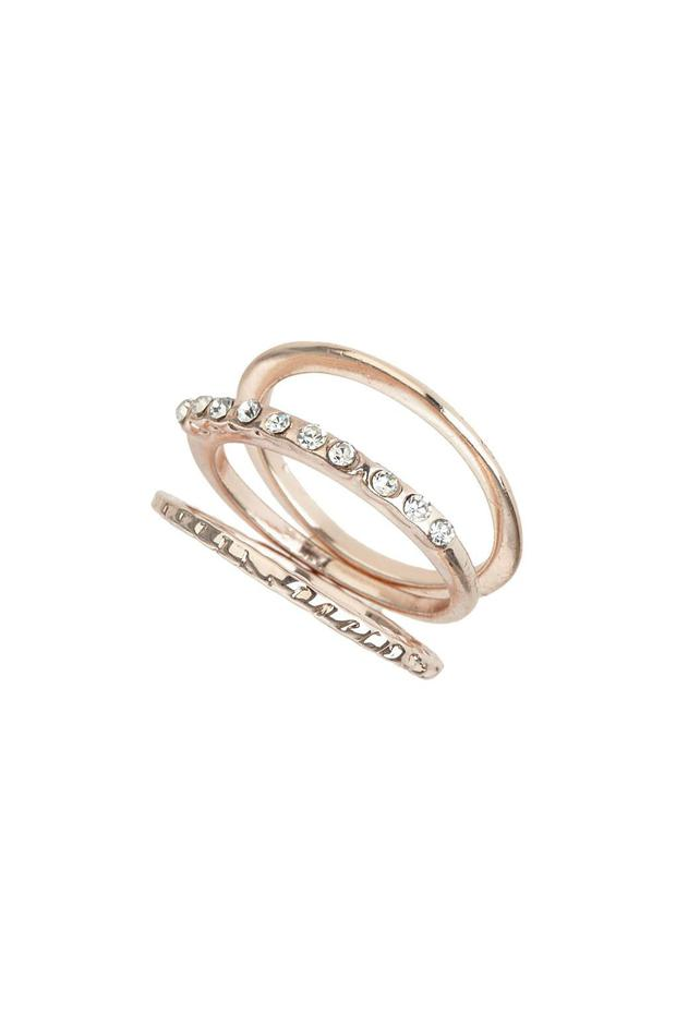 Set of stacking rings, €8, Topshop