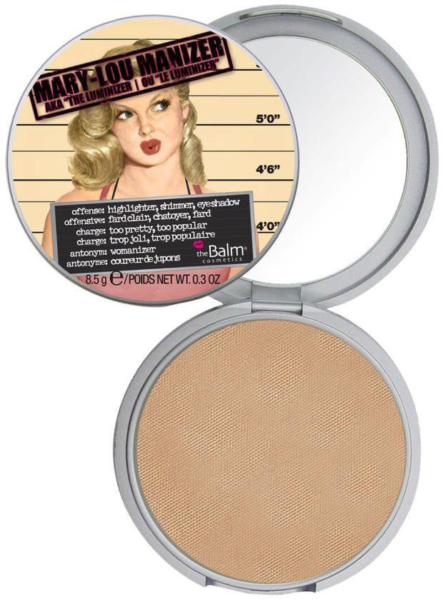 The Balm's May-Lou Manizer