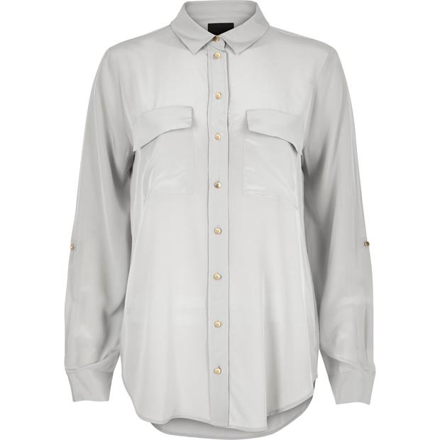Shirt, €100, River Island Studio, River Island, available from selected stores and online at riverisland.com