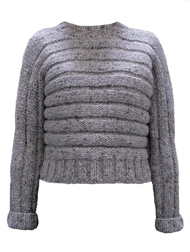 Sweater, €265. The We Are Islanders Knitwear Collection is now available at The Loft Market, Powerscourt Townhouse Centre, D2, or see weareislanders.com