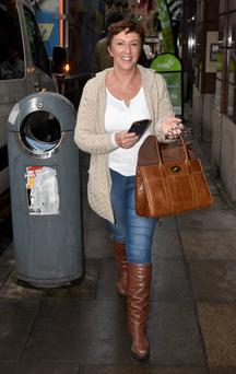 Majella O'Donnell rocks the casual look.
