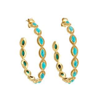 Earrings, €113, Melinda Maria, Arnotts