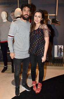 Too glamorous to be hipsters: Paul Galvin and Louise Duffy.