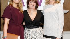Marian O'Gorman pictured centre with her daughter, Melissa O'Gorman (left), head of buying, and Kathryn Ryan, marketing manager. Photocall Ireland