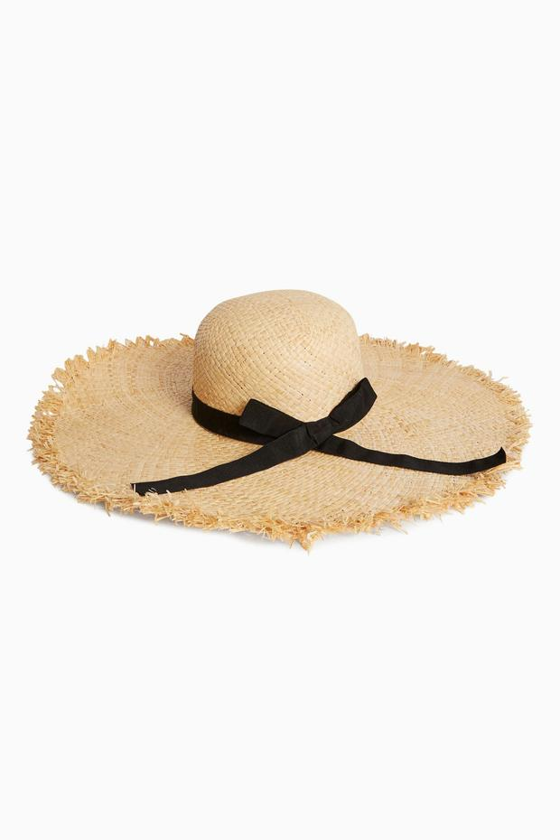 Straw hat, €26 from Next