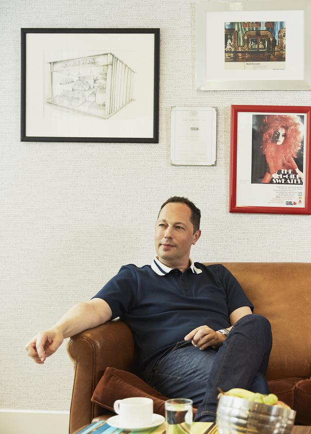 Ben Lewis, CEO of River Island at his office in London. Photo: Mark Abe
