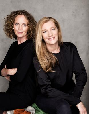 Sonia Reynolds and Francie Duff photographed by Barry McCall