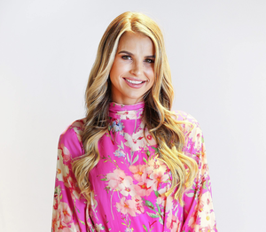 Vogue Williams often has virtual sessions with her stylist, Corina Gaffey