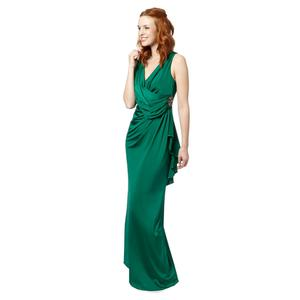 Dark green maxi evening dress by No 1 Jenny Packham (€195, Debenhams)