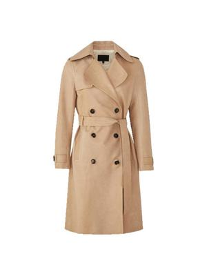 Leather trench, €399, Massimo Dutti