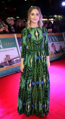 Saoirse Ronan pictured at The Irish premiere screening of the film Brooklyn at The Savoy Cinema Dublin, Pic Brian McEvoy