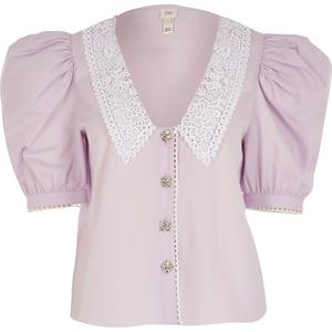 6. Collared blouse, €50, River Island