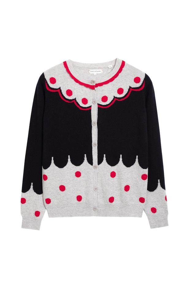 Pattern cardigan, €485 from chintiandparker.com