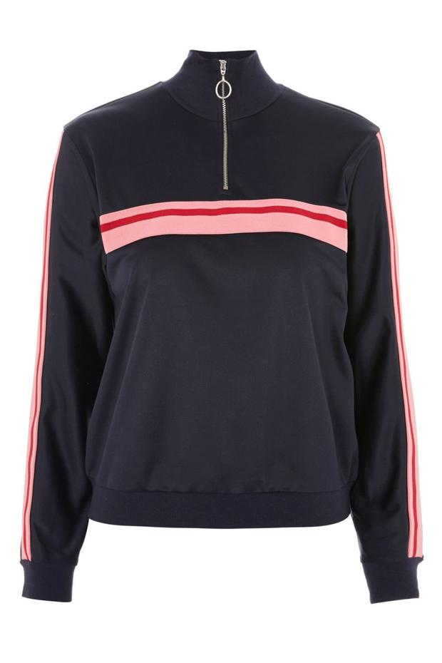 Track top, €44 from Topshop