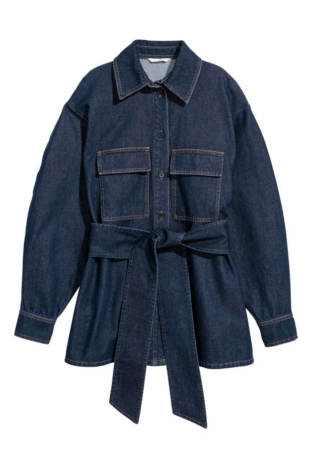 Denim shirt, €59.99 from H&M