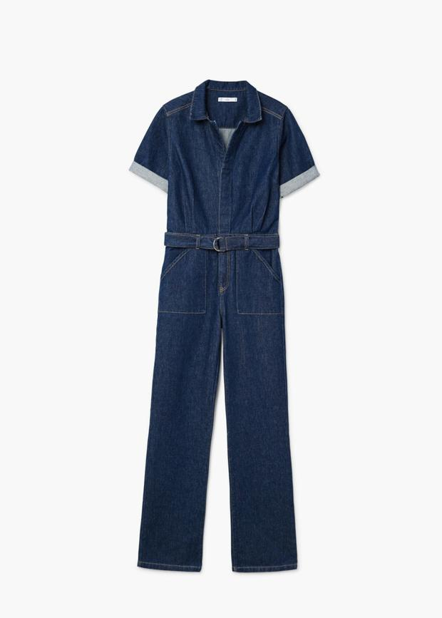 Jumpsuit, €69.95 from Mango