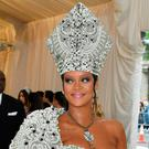 Rihanna arrives at the Met Gala