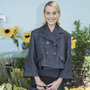This season, Chanel presented boxy skirt suits in charcoal, as seen on Margot Robbie. Photo: Getty Images