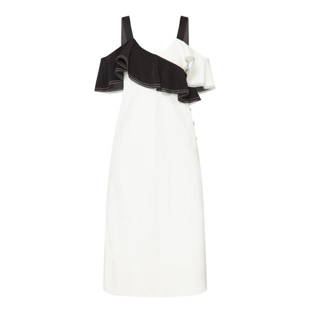 Ruffle dress, €360 from Self-Portrait at Brown Thomas