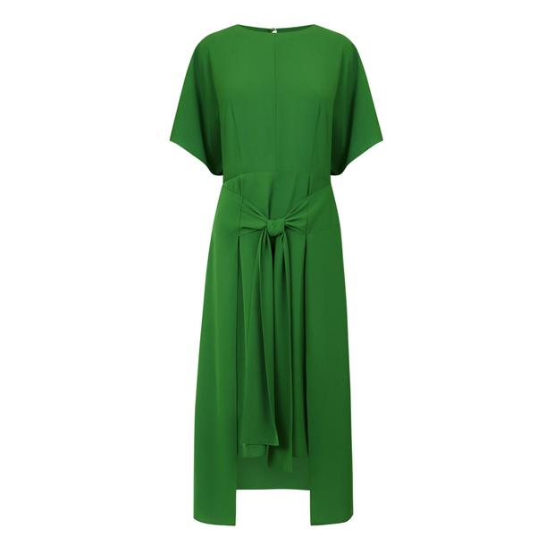 Tie dress, €89 from Warehouse