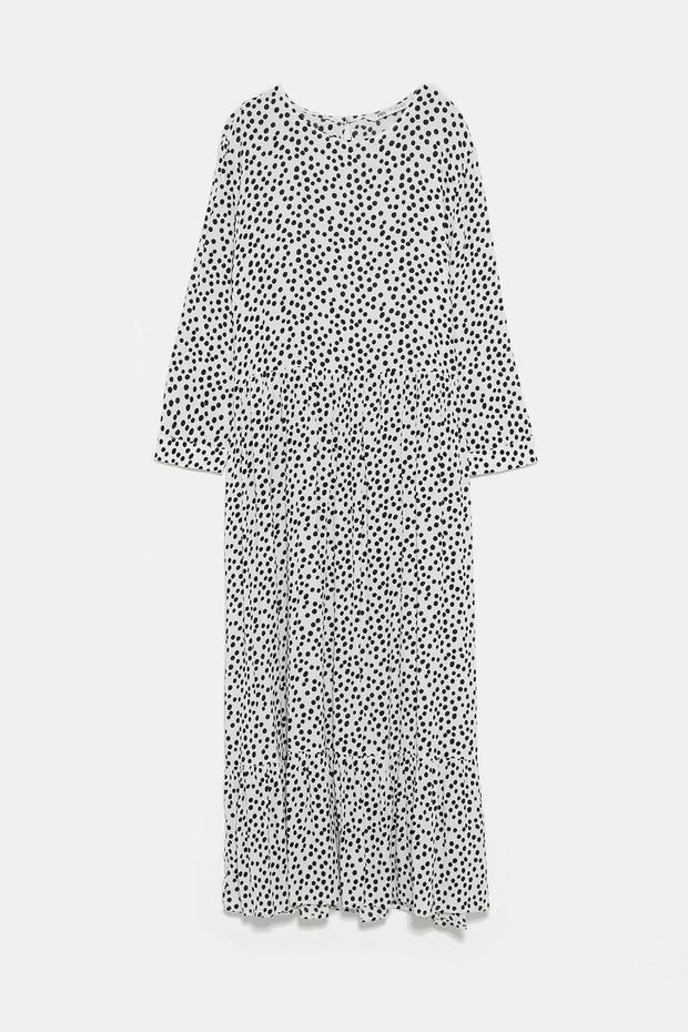 Black and white, €49.95 from Zara