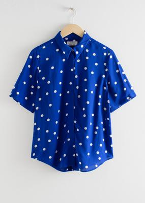 Blue shirt, €59 from & Other Stories