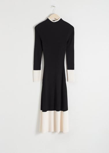 Knitted dress, €79 from & Other Stories