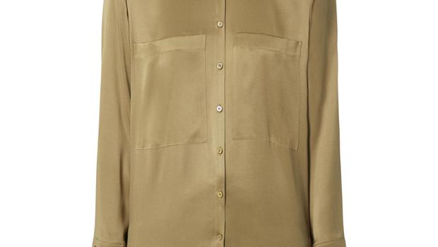 Gold shirt, €140 from Luisa Cerano at Arnotts