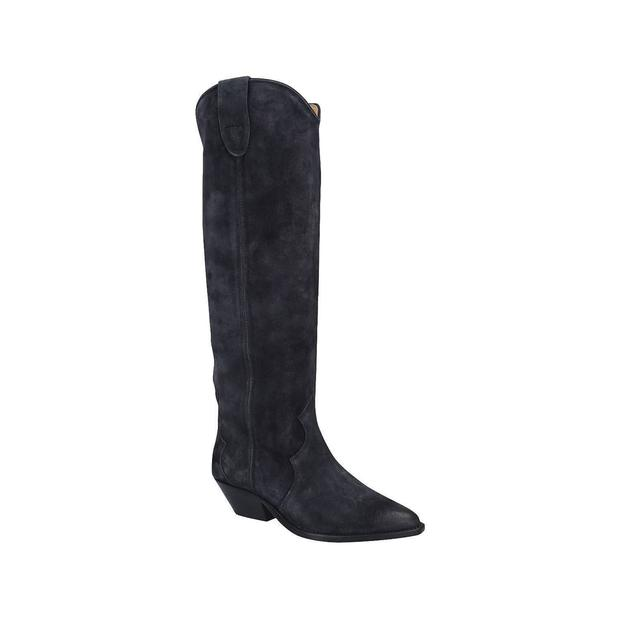 Western suede, €580 from Isabel Marant at Brown Thomas