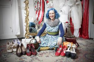 Caroline Quinn MacCann from the splendid specialist vintage store Dirty Fabulous, on Dublin's Wicklow Street. Photo: Emily Quinn