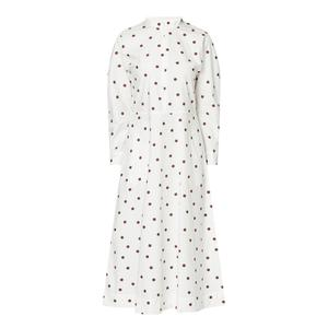 White dress, €245 from Ganni at Brown Thomas