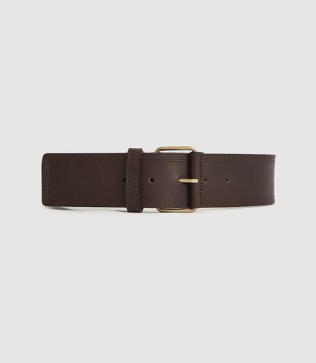 Chocolate brown, €95 from Reiss
