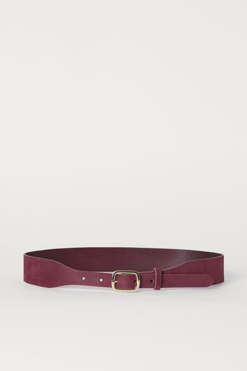 Burgundy, €19.99 from H&M