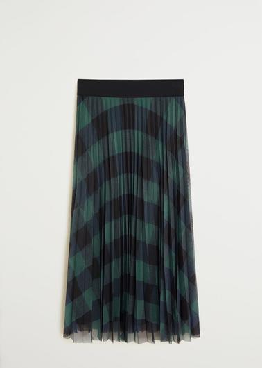 Pleated skirt, €59.99 from Mango
