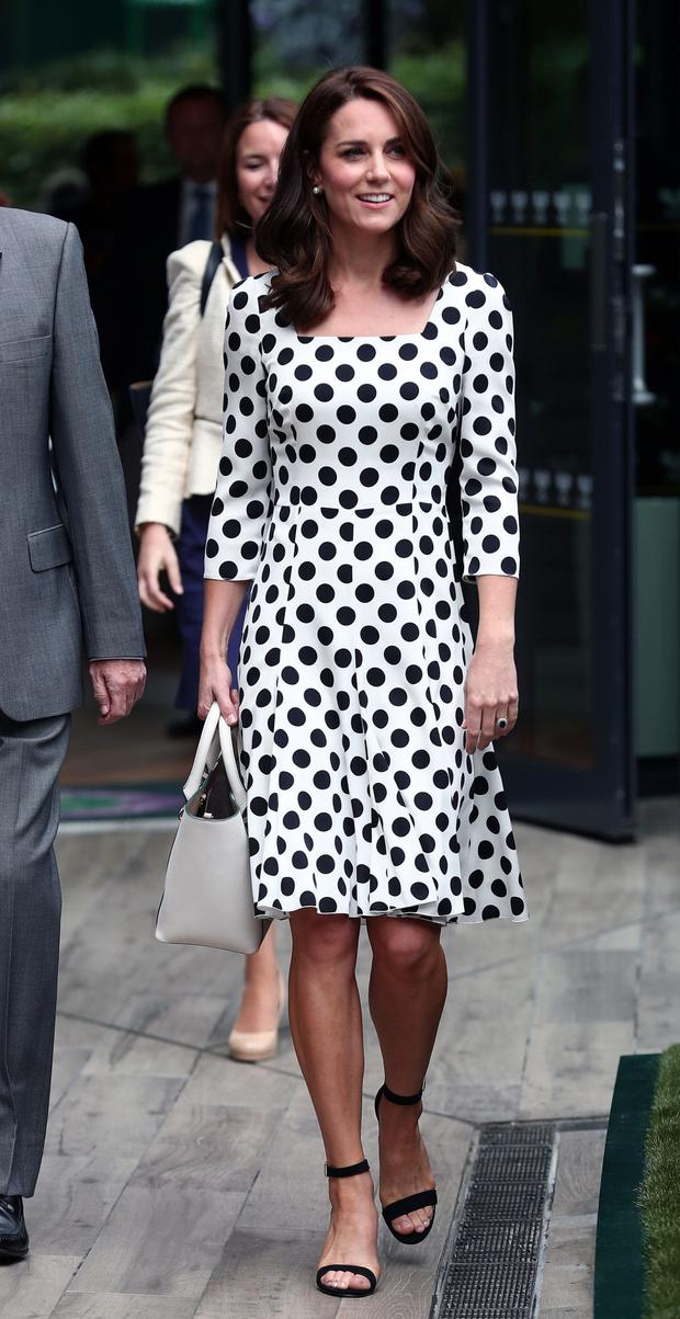 Kate Middleton in Dolce and Gabbana