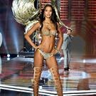 Secret to their success: Victoria's Secret Angel Lais Ribeiro wore a $2m Champagne Nights Fantasy Bra as Harry Styles sang in the background at the Shanghai show. Photo: Frazer Harrison/Getty Images for Victoria's Secret