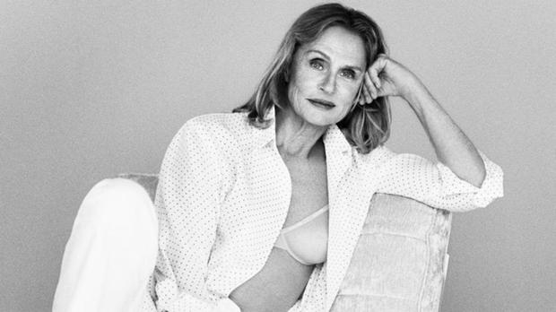 Inspirational: Calvin Klein's shoot with 73-year-old Lauren Hutton