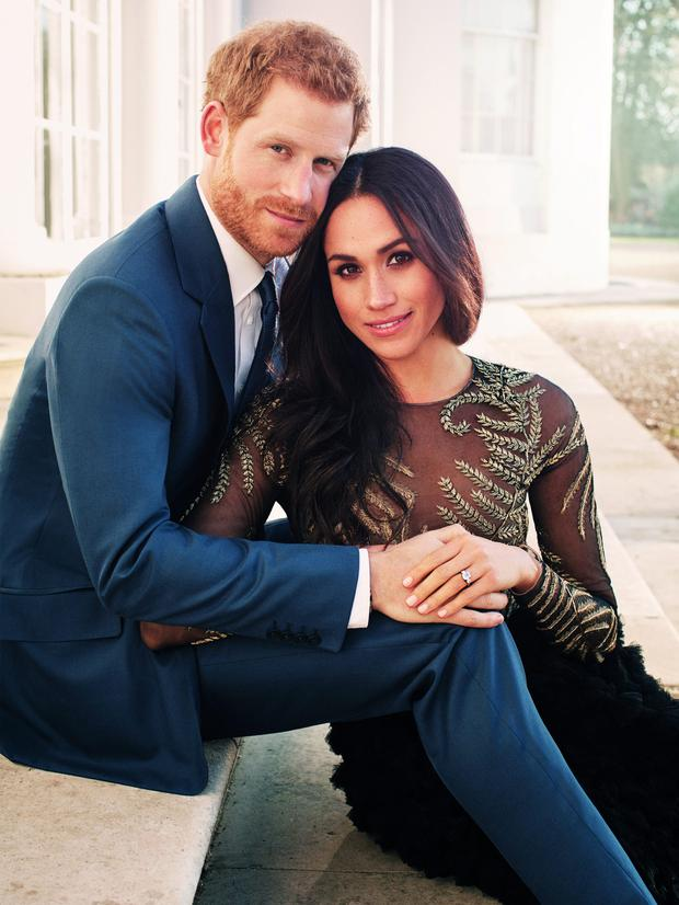 What will Meghan wear for her May wedding to Prince Harry? Photo: Alexi Lubomirski via Getty Image