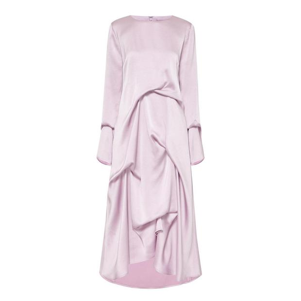 Silk dress, €1,895 by Sies Marjan from Brown Thomas