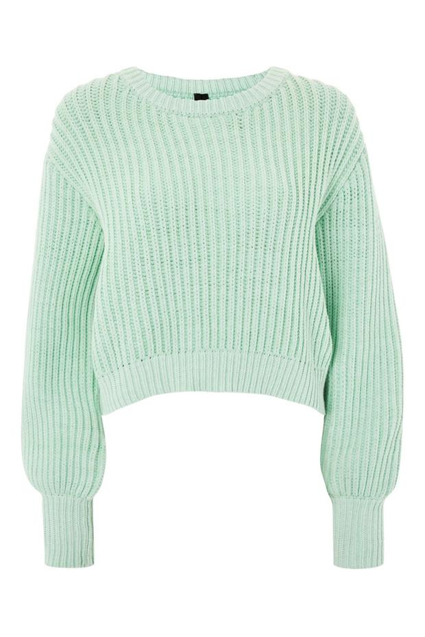 Ribbed knit, €98 from Topshop