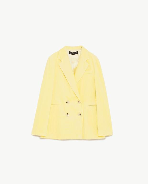 Blazer, €79.95 from Zara