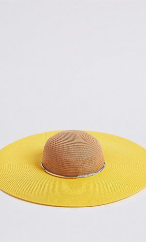 Straw hat, €40 from M&S