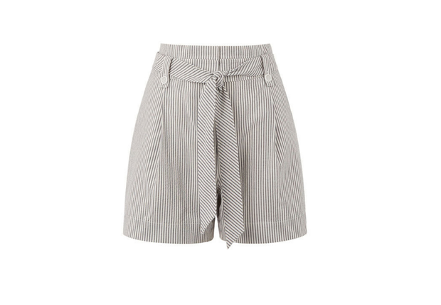 Striped shorts, €42 from Oasis