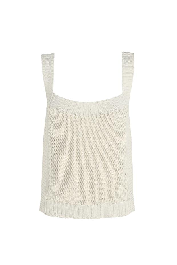 Knit top, €59.95 from Massimo Dutti.
