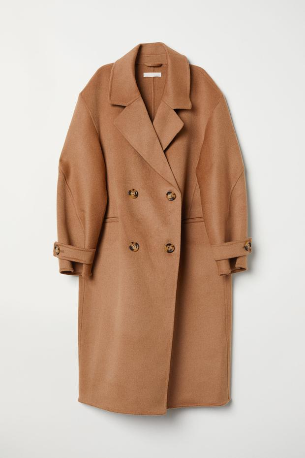 Wool-blend coat, €219 from H&M