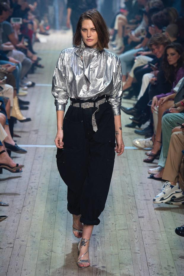 An 80s update from Isabel Marant