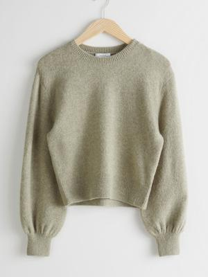 Cropped jumper, €39 from & Other Stories
