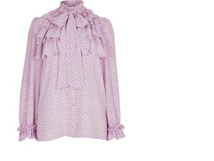 Ruffled blouse, €51 from River Island