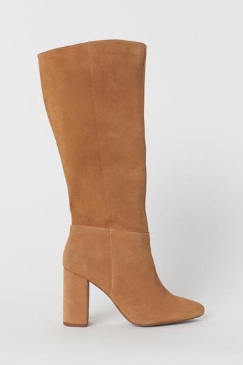 Tan suede, €99.99 from H&M